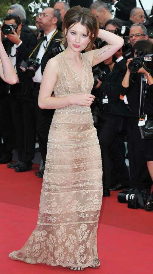 Actress Emily Browning arrives at the 'Sleeping Beauty' premiere during the 64th Annual Cannes Film Festival at the Palais des Festivals on May 12, 2011 in Cannes, France.  (Photo by Pascal Le Segretain/Getty Images) *** Local Caption *** Emily Browning; Photo: Getty Images