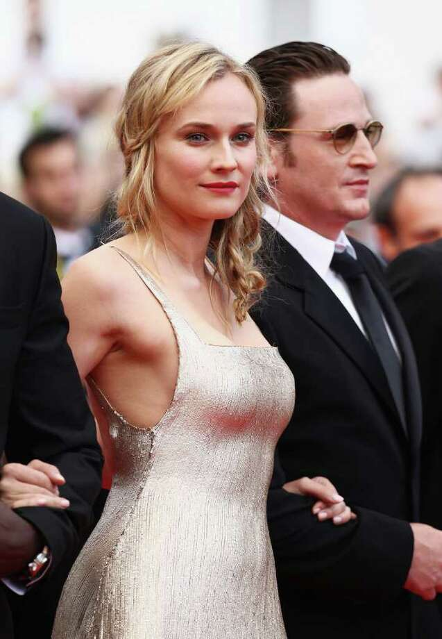 Actress Diane Kruger arrives at the 'Sleeping Beauty' premiere during the 64th Annual Cannes Film Festival at the Palais des Festivals on May 12, 2011 in Cannes, France.  (Photo by Andreas Rentz/Getty Images) *** Local Caption *** Diane Kruger; Photo: Getty Images