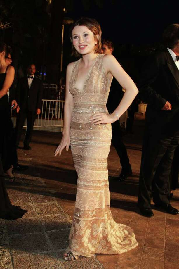 Actress Emily Browning  departs from the 'Sleeping Beauty' premiere during the 64th Annual Cannes Film Festival at the Palais des Festivals on May 12, 2011 in Cannes, France.  (Photo by Andreas Rentz/Getty Images) *** Local Caption *** Emily Browning; Photo: Getty Images