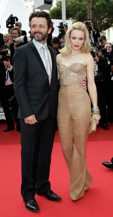 Actress Rachel McAdams and actor Michael Sheen attend the 'Sleeping Beauty' premiere during the 64th Annual Cannes Film Festival at the Palais des Festivals on May 12, 2011 in Cannes, France.  (Photo by Andreas Rentz/Getty Images) *** Local Caption *** Rachel McAdams;Michael Sheen; Photo: Getty Images
