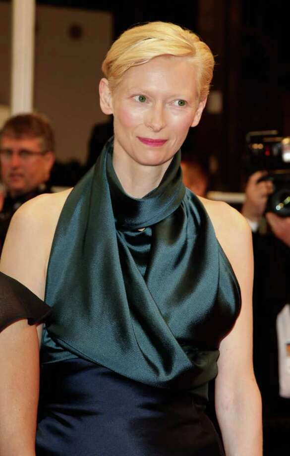 Actress Tilda Swinton arrives at the 'We Need To Talk About Kevin' Premiere during the 64th Annual Cannes Film Festival at the Palais des Festivals on May 12, 2011 in Cannes, France.  (Photo by Andreas Rentz/Getty Images) *** Local Caption *** Tilda Swinton; Photo: Getty Images