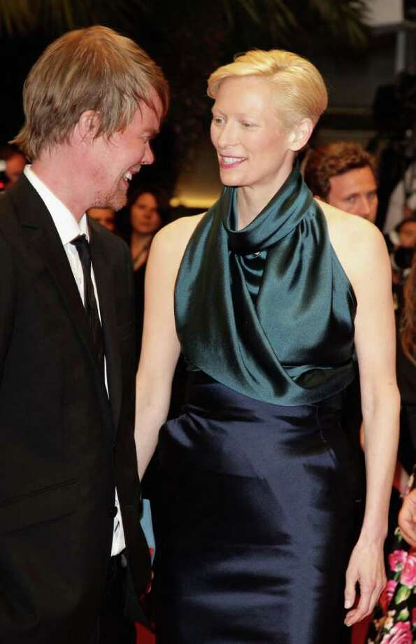 Screenwriter Rory Stewart Kinnear and actress Tilda Swinton arrives at the 'We Need To Talk About Kevin' Premiere during the 64th Annual Cannes Film Festival at the Palais des Festivals on May 12, 2011 in Cannes, France.  (Photo by Andreas Rentz/Getty Images) *** Local Caption *** Rory Stewart Kinnear;Tilda Swinton; Photo: Getty Images