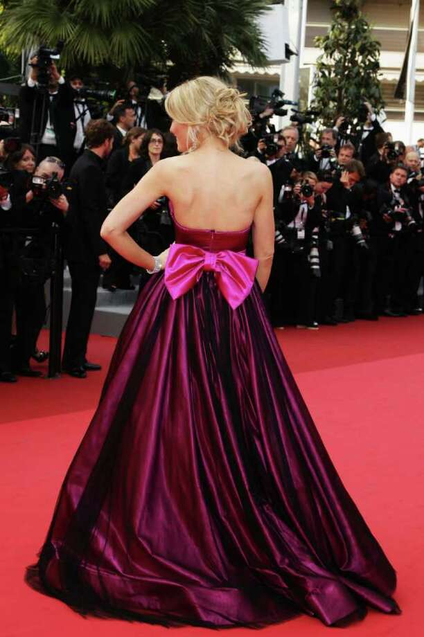 Hofit Golan arrives at the 'Sleeping Beauty' premiere during the 64th Annual Cannes Film Festival at the Palais des Festivals on May 12, 2011 in Cannes, France.  (Photo by Andreas Rentz/Getty Images) *** Local Caption *** Hofit Golan; Photo: Getty Images