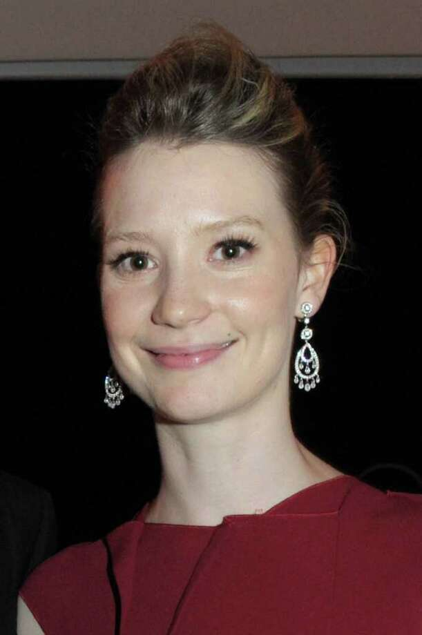 "Actresses Mia Wasikowska attends the ""Restless"" dinner during the 64th Annual Cannes Film Festival at the Moet & Chandon Terrace on May 12, 2011 in Cannes, France.  (Photo by Michael Buckner/Getty Images) *** Local Caption *** Mia Wasikowska; Photo: Getty Images"