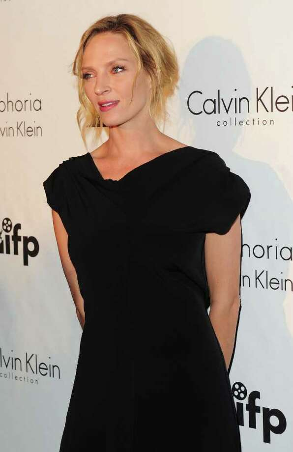Jury Member Uma Thurman attends the Calvin Klein Event during the 64th Annual Cannes Film Festival at Martinez Hotel on May 12, 2011 in Cannes, France.  (Photo by Ian Gavan/Getty Images) *** Local Caption *** Uma Thurman; Photo: Getty Images