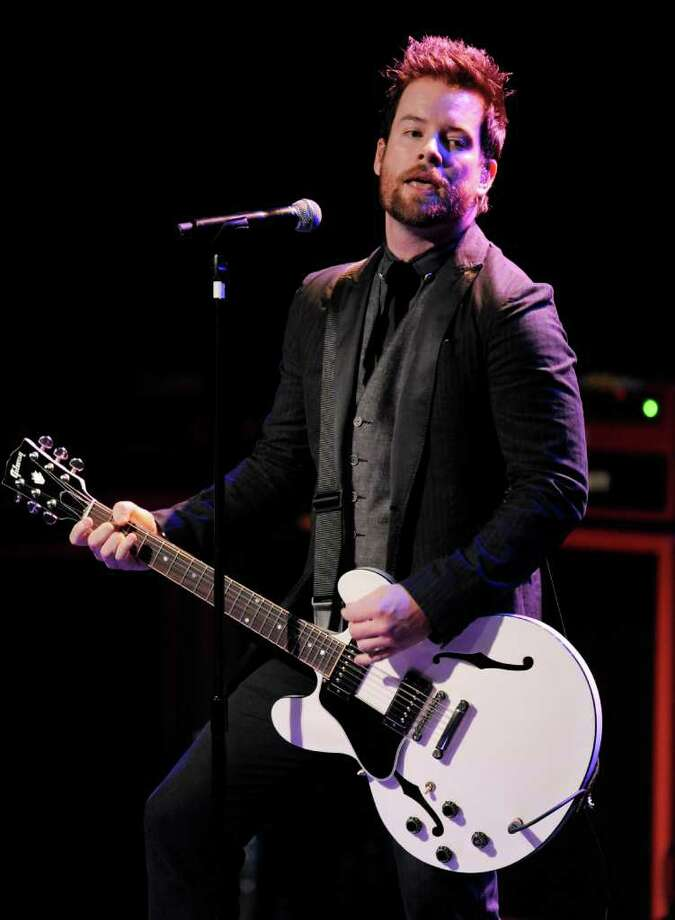 David Cook performs at the National Association of Recording Merchandisers Convention Awards Dinner, Thursday, May 12, 2011, in Los Angeles. Photo: AP