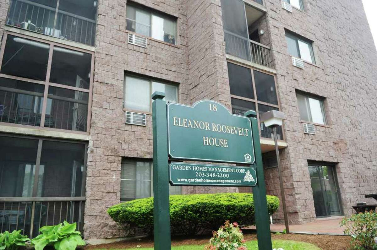 HUD is pulling funding from the Eleanor Roosevelt apartments which are mostly occupied by low-income seniors in Stamford, Conn. on Friday May 13, 2011.