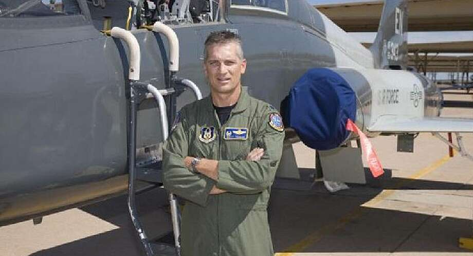 Jay High School product Scott Thomas played football at Air Force, and lived to tell about ejecting from a crippled plane over Iraq in 1991. COURTESY PHOTO