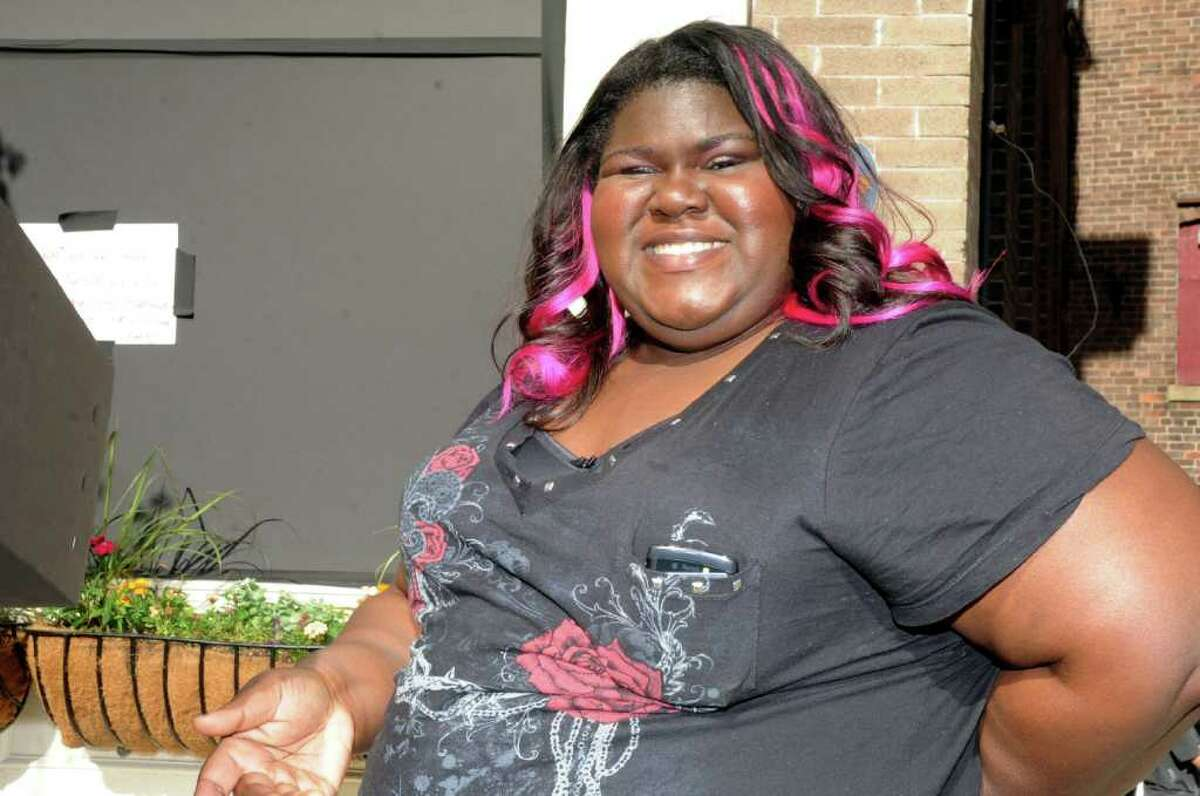 Actress Gabourey Sidibe, best know for her role in the movie