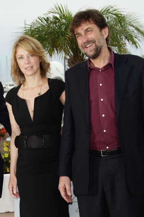 "(L-R) Actress Margherita Buy and director/writer/actor Nanni Moretti attend the ""Habemus Papam"" photocall at the Palais des Festivals during the 64th Cannes Film Festival on May 13, 2011 in Cannes, France.  (Photo by Vittorio Zunino Celotto/Getty Images) *** Local Caption *** Margherita Buy;Nanni Morett; Photo: Getty Images"