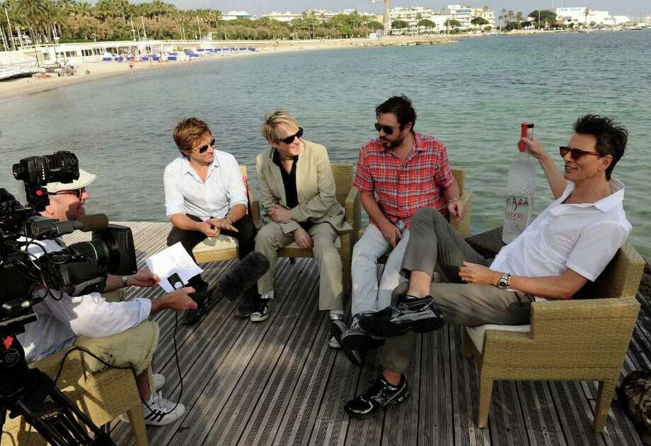 (L-R) Musicians Roger Taylor, Nick Rhodes, Simon Le Bon and John Taylor of Duran Duran interview at a photocall during the 64th Annual Cannes Film Festival on May 13, 2011 in Cannes, France. Photo: Ian Gavan, Getty Images / 2011 Getty Images