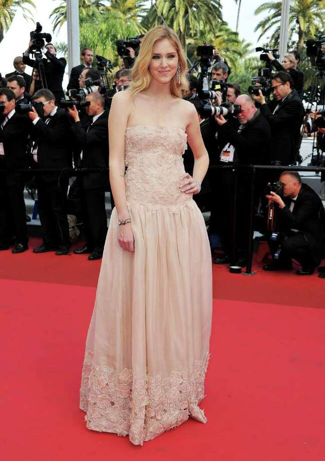 "Actress Chiara Ferragni attends the ""Habemus Papam"" premiere at the Palais des Festivals during the 64th Cannes Film Festival on May 13, 2011 in Cannes, France. Photo: Pascal Le Segretain, Getty Images / 2011 Getty Images"