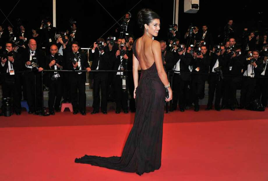 "Actress Stephanie Sigman attends the ""Miss Bala"" premiere at the Palais des Festivals during the 64th Cannes Film Festival  on May 13, 2011 in Cannes, France. Photo: Pascal Le Segretain, Getty Images / 2011 Getty Images"