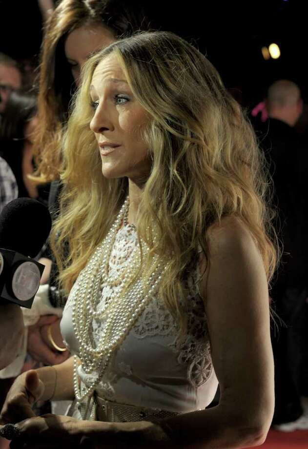 Actress Sarah Jessica Parker is interviewed as she attends The Weinstein Company VIP Press Event at the Martinez Hotel during the 64th Cannes Film Festival on May 13, 2011 in Cannes, France. Photo: Michael Buckner, Getty Images / 2011 Getty Images
