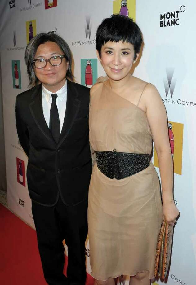 Director Peter Chan (L) and guest attend The Weinstein Company VIP Press Event at the Martinez Hotel during the 64th Cannes Film Festival on May 13, 2011 in Cannes, France. Photo: Michael Buckner, Getty Images / 2011 Getty Images