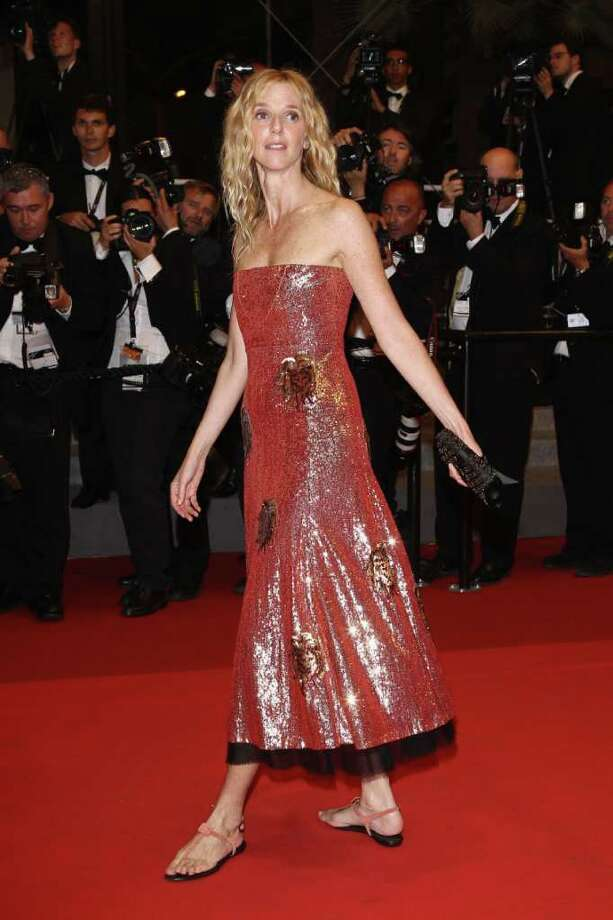 "Actress Sandrine Kiberlain attend the ""Polisse"" premiere at the Palais des Festivals during the 64th Cannes Film Festival on May 13, 2011 in Cannes, France. Photo: Andreas Rentz, Getty Images / 2011 Getty Images"