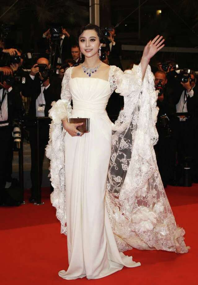 "Fan Bingbing attends the ""Polisse"" premiere at the Palais des Festivals during the 64th Cannes Film Festival on May 13, 2011 in Cannes, France. Photo: Andreas Rentz, Getty Images / 2011 Getty Images"