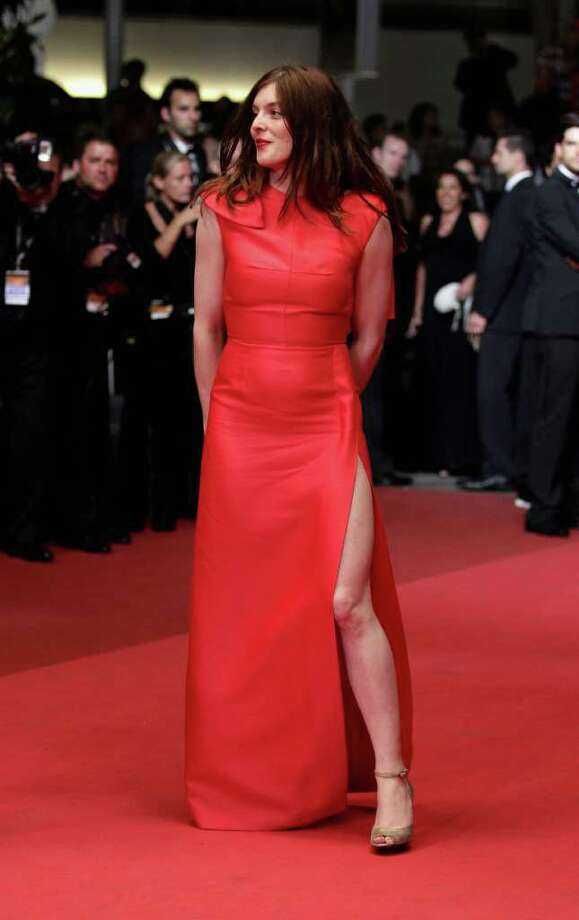 "Valerie Donzelli attends the ""Polisse"" premiere at the Palais des Festivals during the 64th Cannes Film Festival on May 13, 2011 in Cannes, France. Photo: Andreas Rentz, Getty Images / 2011 Getty Images"
