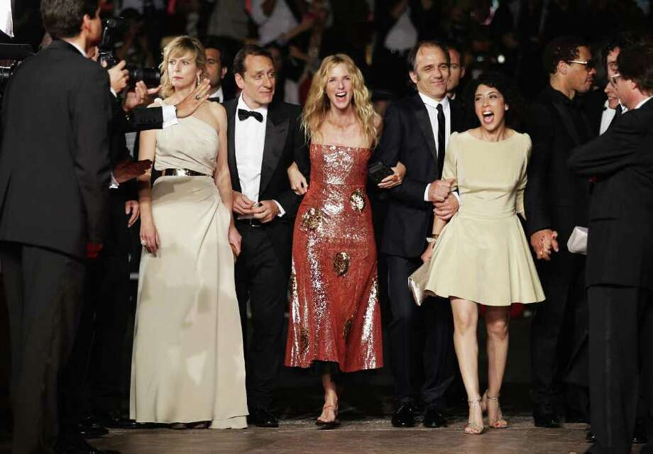 "Cast and crew of 'Polisse' attend the ""Polisse"" premiere at the Palais des Festivals during the 64th Cannes Film Festival on May 13, 2011 in Cannes, France. Photo: Andreas Rentz, Getty Images / 2011 Getty Images"