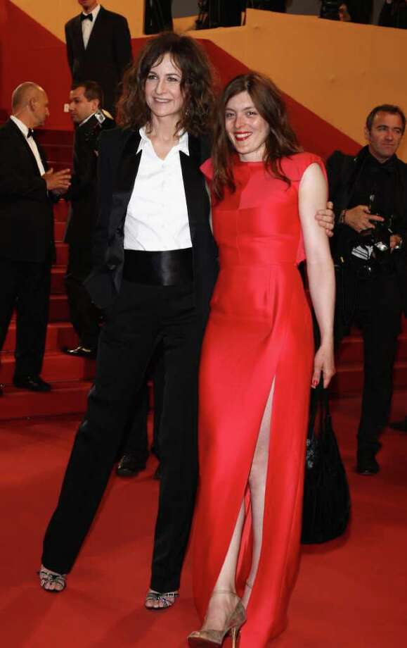 "Director Katia Lewkowicz and actress Valerie Donzelli attend the ""Polisse"" premiere at the Palais des Festivals during the 64th Cannes Film Festival on May 13, 2011 in Cannes, France. Photo: Andreas Rentz, Getty Images / 2011 Getty Images"