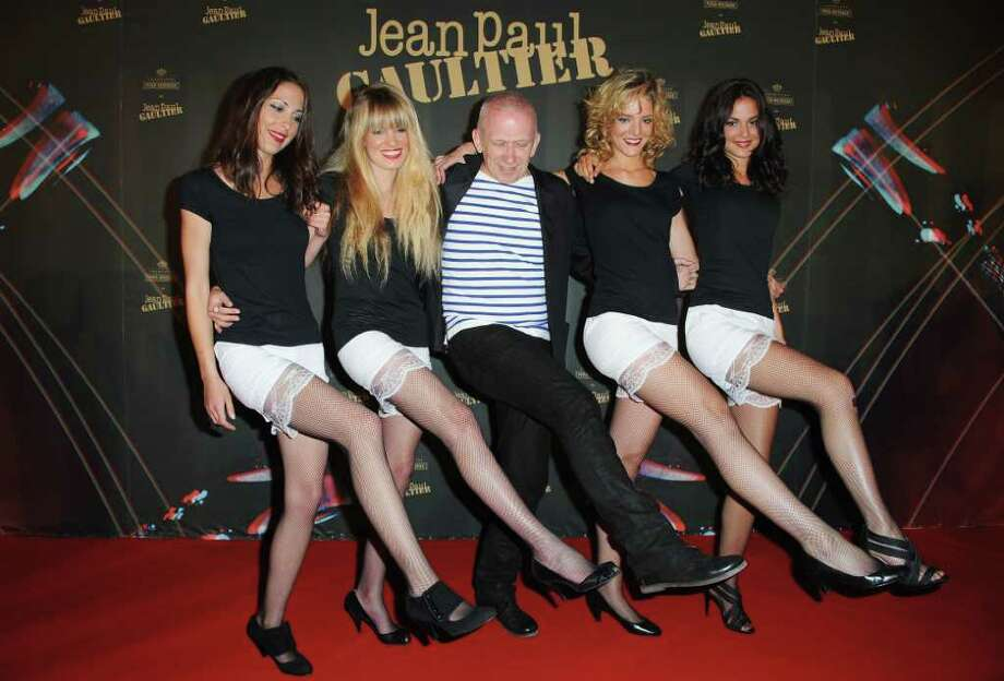 Jean Paul Gaultier (C) attends the Piper-Heidsieck Dinner during the 64th Annual Cannes Film Festival at Marche Forville on May 13, 2011 in Cannes, France. Photo: Francois Durand, Getty Images / 2011 Getty Images