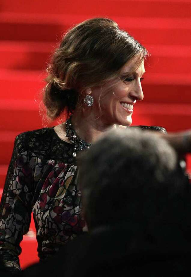 "Actress Sarah Jessica Parker attends the ""Wu Xia""  premiere at the Palais des Festivals during the 64th Cannes Film Festival on May 13, 2011 in Cannes, France. Photo: Andreas Rentz, Getty Images / 2011 Getty Images"