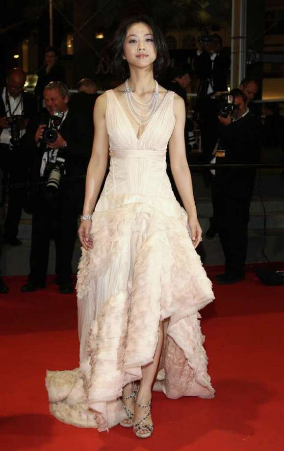 """Actress Tang Wei attends the """"Wu Xia"""" premiere during the 64th Annual Cannes Film Festival at the Palais des Festivals on May 13, 2011 in Cannes, France. Photo: Andreas Rentz, Getty Images / 2011 Getty Images"""