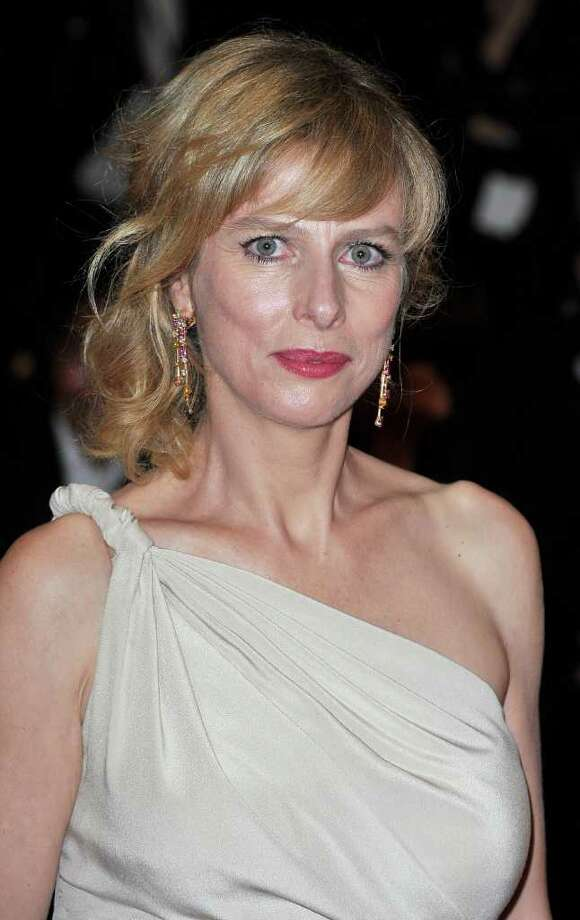 """Actress Karin Viard  attend the """"Polisse"""" premiere at the Palais des Festivals during the 64th Cannes Film Festival on May 13, 2011 in Cannes, France. Photo: Pascal Le Segretain, Getty Images / 2011 Getty Images"""