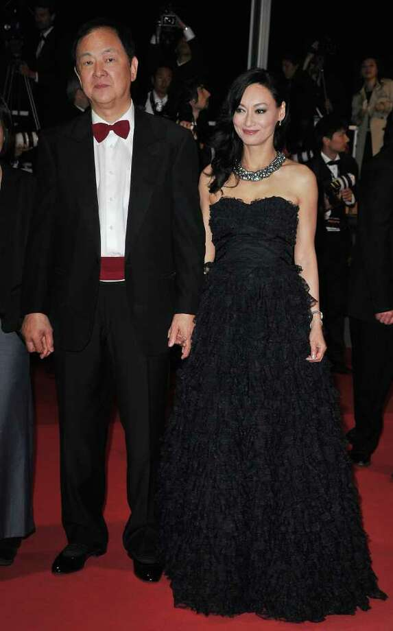 "Actress Kara Hui and guest attend the ""Wu Xia""  premiere at the Palais des Festivals during the 64th Cannes Film Festival on May 13, 2011 in Cannes, France. Photo: Pascal Le Segretain, Getty Images / 2011 Getty Images"