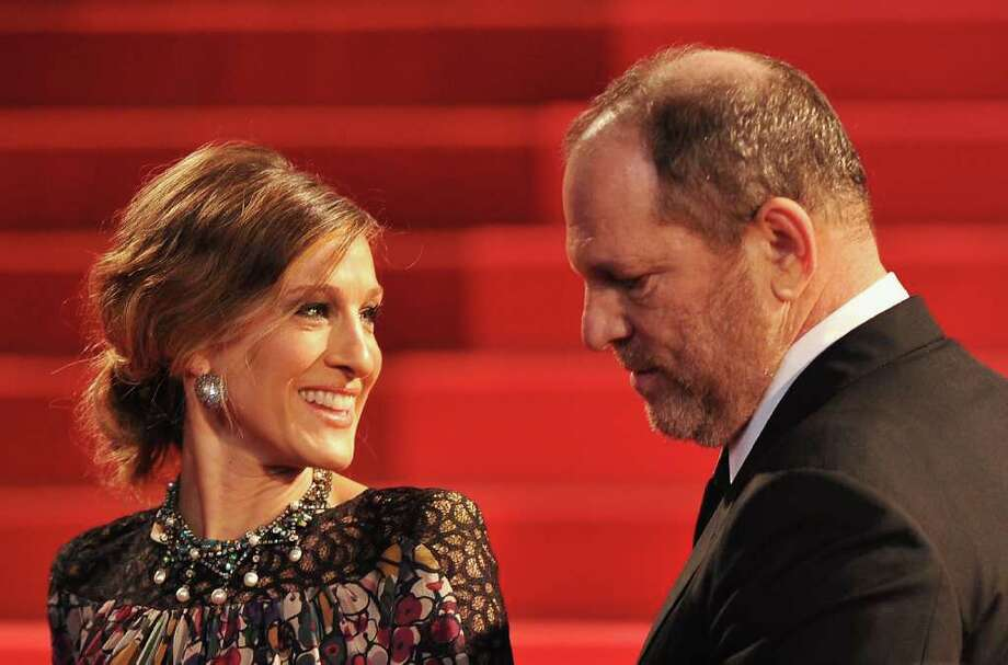 "Actress Sarah Jessica Parker (L) and Producer Harvey Weinstein attend the ""Wu Xia""  premiere at the Palais des Festivals during the 64th Cannes Film Festival on May 13, 2011 in Cannes, France. Photo: Pascal Le Segretain, Getty Images / 2011 Getty Images"