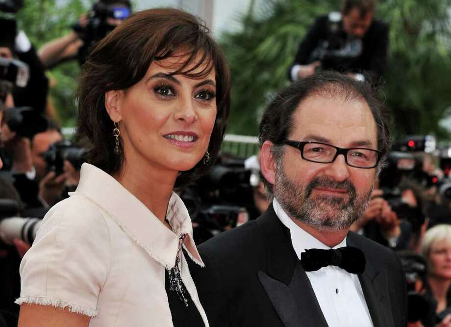 "Designer Ines de la Fressange (L) and Denis Olivennes attend the ""Habemus Papam"" premiere at the Palais des Festivals during the 64th Cannes Film Festival on May 13, 2011 in Cannes, France. Photo: Pascal Le Segretain, Getty Images / 2011 Getty Images"