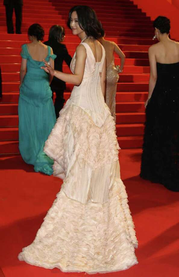 "Actress Tang Wei attends the ""Wu Xia"" premiere during the 64th Annual Cannes Film Festival at the Palais des Festivals on May 13, 2011 in Cannes, France. Photo: Andreas Rentz, Getty Images / 2011 Getty Images"