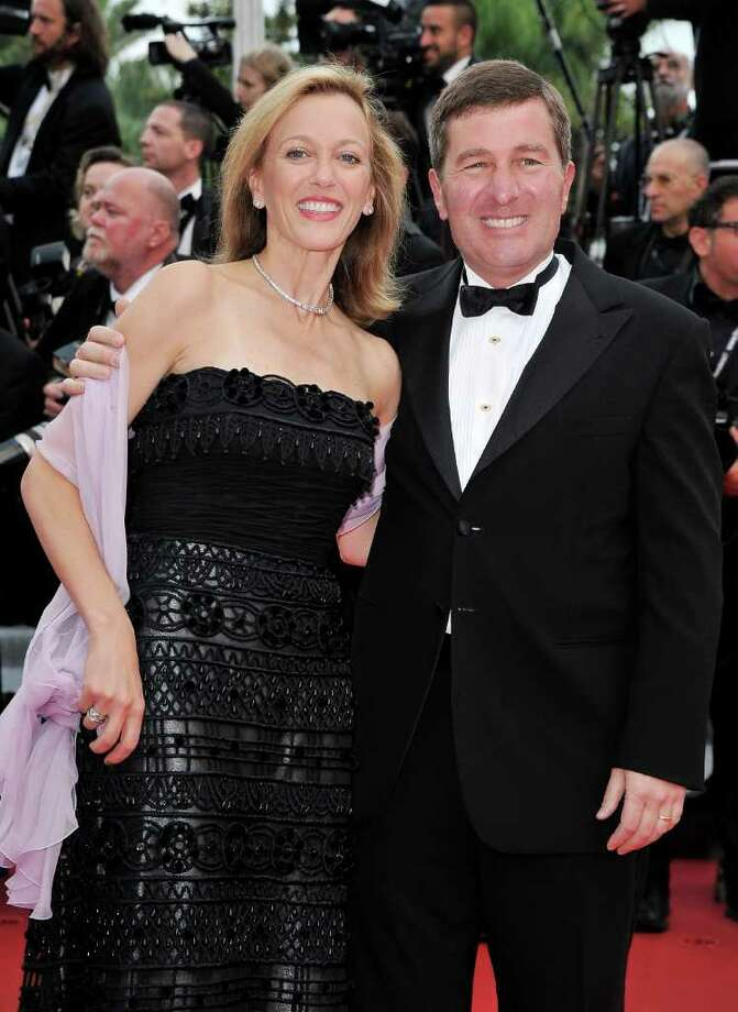 "US Ambassador to France and Monaco Charles H. Rivkin (R) and wife Susan Tolson attend the ""Habemus Papam"" premiere at the Palais des Festivals during the 64th Cannes Film Festival on May 13, 2011 in Cannes, France. Photo: Pascal Le Segretain, Getty Images / 2011 Getty Images"