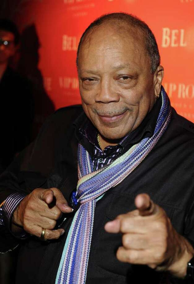 Producer Quincy Jones attends the (BELVEDERE) RED party in Cannes to celebrate the European launch of (BELVEDERE) RED featuring a performance by Duran Duran held at the VIP Room Famous Club on May 13, 2011 in Cannes, France. Photo: Ian Gavan, Getty Images For Belvedere / 2011 Getty Images