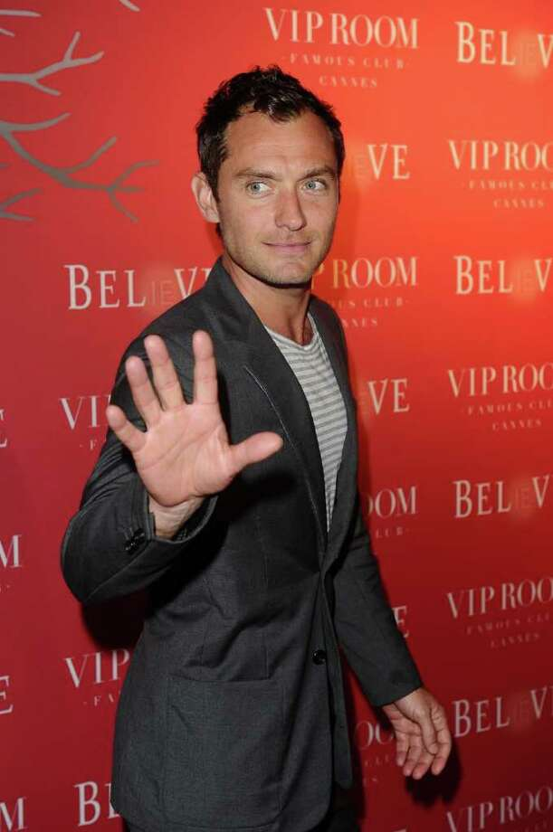 Actor Jude Law attends the (BELVEDERE) RED party in Cannes to celebrate the European launch of (BELVEDERE) RED featuring a performance by Duran Duran held at the VIP Room Famous Club on May 13, 2011 in Cannes, France. Photo: Ian Gavan, Getty Images For Belvedere / 2011 Getty Images