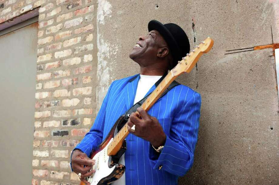 Blues legend and five-time, Grammy Award-winner Buddy Guy is scheduled to perform at the Greenwich Town Party on May 28, 2011. Photo: Contributed Photo / Greenwich Time Contributed
