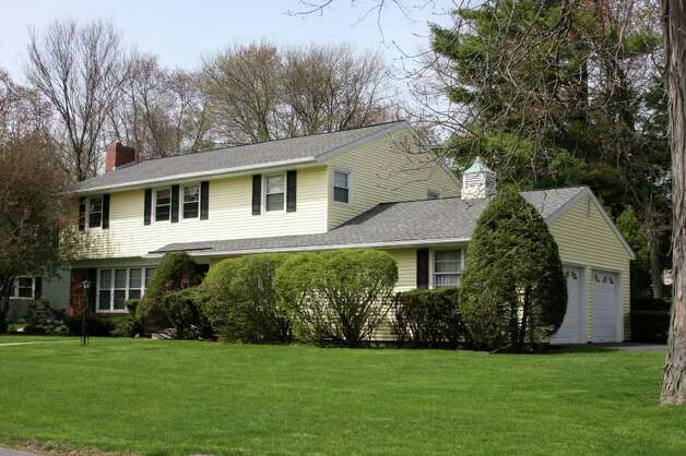 This colonial at 103 Dumbarton Drive in Delmar has five bedrooms and 2.5 bathrooms. It?s on the market for $305,000. (Michael Lisi / Special to the Times Union)