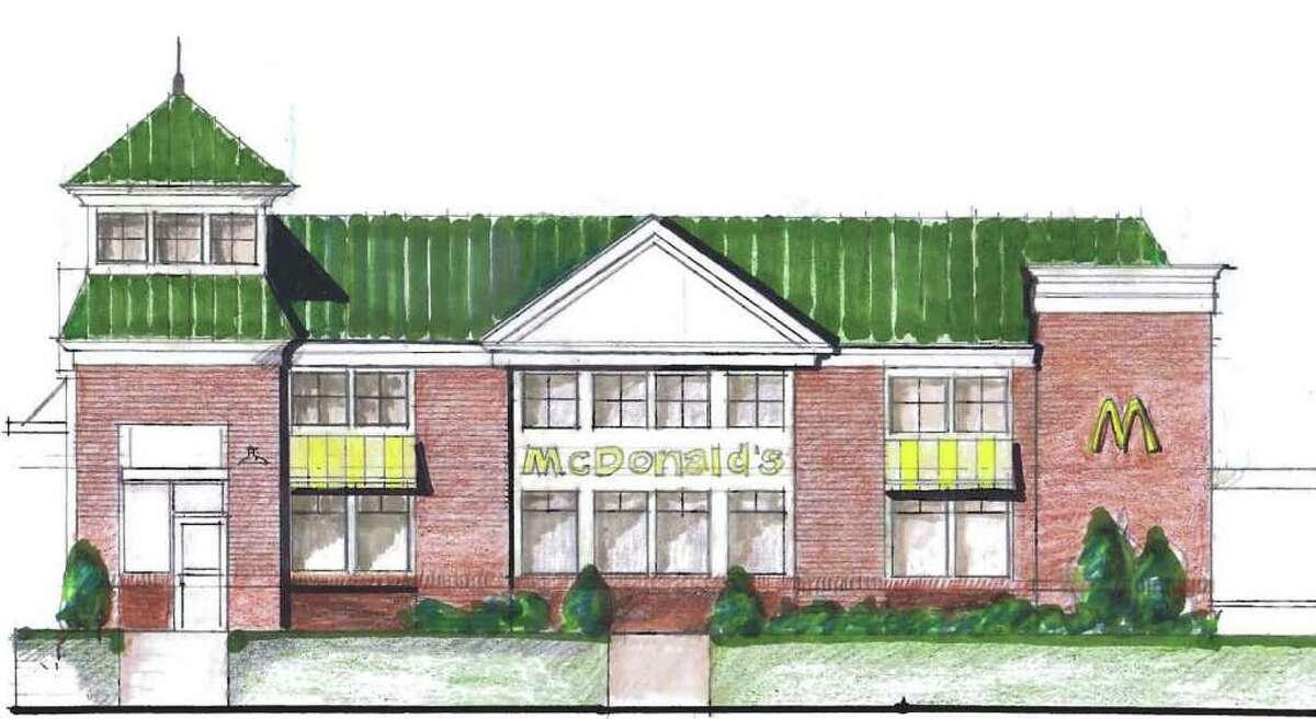 Rendering of new Saratoga Springs McDonalds. (Courtesy Clark Brink)