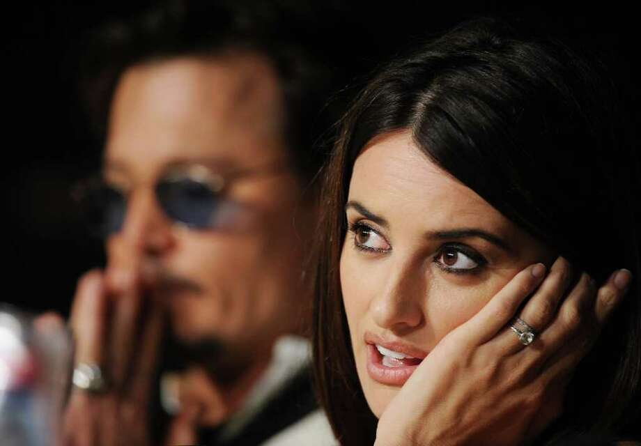 """Actress Penelope Cruz attends the """"Pirates of the Caribbean: On Stranger Tides"""" press conference at the Palais des Festivals during the 64th Cannes Film Festiva lon May 14, 2011 in Cannes, France. Photo: Francois Durand, Getty Images / 2011 Getty Images"""