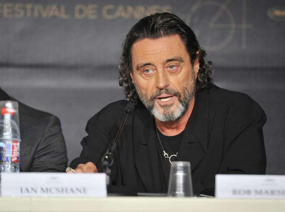 """Actor Ian McShane attends the """"Pirates of the Caribbean: On Stranger Tides"""" press conference at the Palais des Festivals during the 64th Cannes Film Festiva lon May 14, 2011 in Cannes, France. Photo: Francois Durand, Getty Images / 2011 Getty Images"""