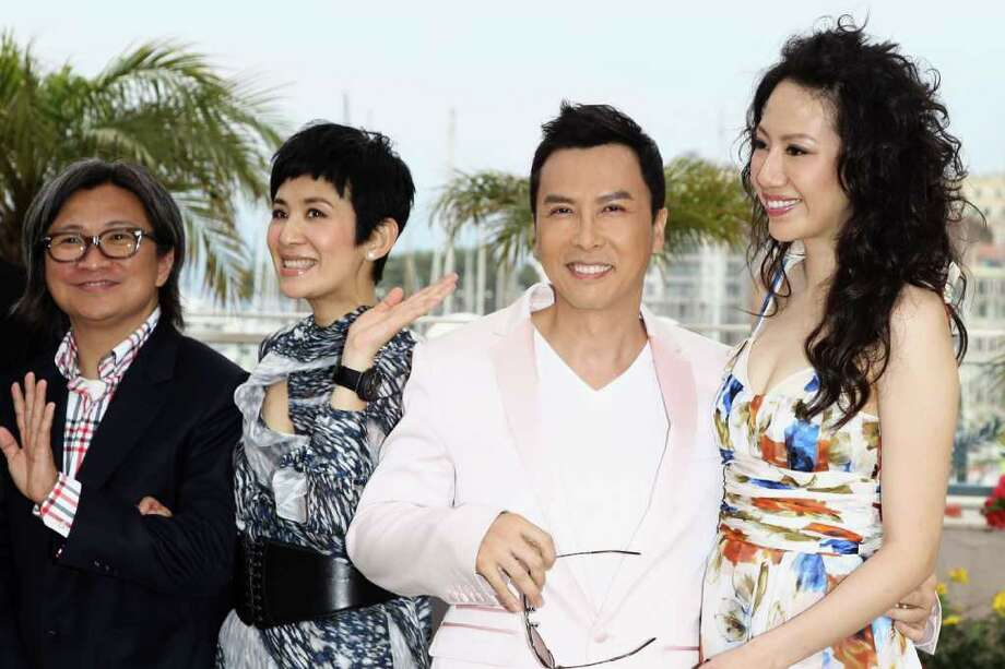 "(L-R) Peter Chan, Sandra Ng Kwan Yu, Donnie Yen and Cecilia Cissy Wang attend the ""Wu Xia"" Photocall at the Palais des Festivals during the 64th Cannes Film Festival on May 14, 2011 in Cannes, France. Photo: Andreas Rentz, Getty Images / 2011 Getty Images"