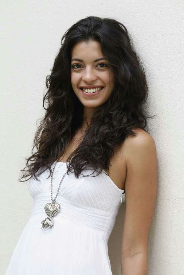 """Actress Stephanie Sigman of the film """"Miss Bala"""" poses during a portrait session at the Resideal Garden,Carlton Hotel during the 64th Cannes Film Festival on May 14, 2011 in Cannes, France. Photo: Vittorio Zunino Celotto, Getty Images / 2011 Getty Images"""