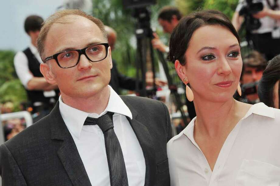 "Director/writer Markus Schleinzer (L) and actress Ursula Strauss attend the ""Michael"" premiere at the Palais des Festivals during the 64th Cannes Film Festival on May 14, 2011 in Cannes, France. Photo: Francois Durand, Getty Images / 2011 Getty Images"