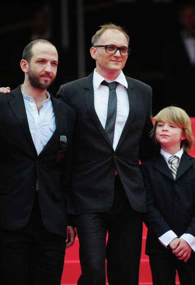 "(L to R) Actor Michael Fuith, director Markus Schleinzer and actor David Rauchenberger attend the ""Michael"" premiere at the Palais des Festivals during the 64th Cannes Film Festival on May 14, 2011 in Cannes, France. Photo: Ian Gavan, Getty Images / 2011 Getty Images"