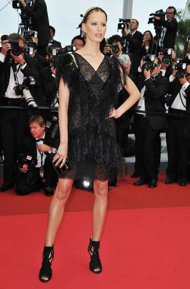 "Model Karolina Kurkova attends the ""Pirates of the Caribbean: On Stranger Tides"" premiere at the Palais des Festivals during the 64th Cannes Film Festival on May 14, 2011 in Cannes, France. Photo: Pascal Le Segretain, Getty Images / 2011 Getty Images"
