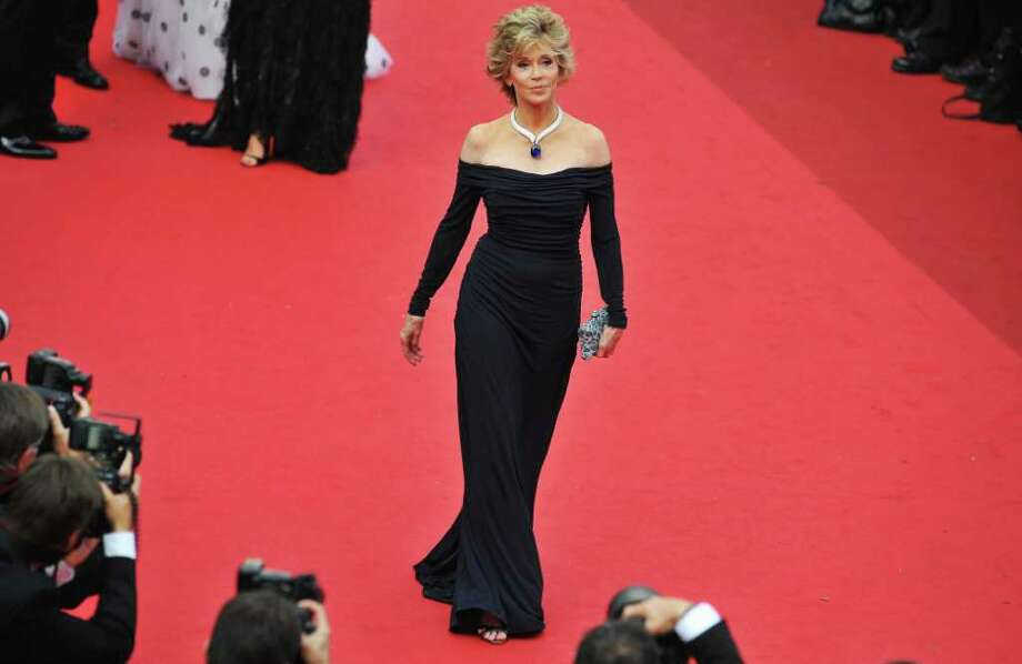 "Actress Jane Fonda attends the ""Pirates of the Caribbean: On Stranger Tides"" premiere at the Palais des Festivals during the 64th Cannes Film Festival on May 14, 2011 in Cannes, France. Photo: Francois Durand, Getty Images / 2011 Getty Images"