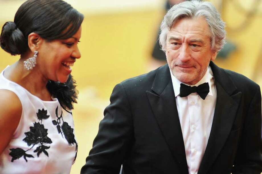 "Jury President Robert De Niro (R) and his wife Grace Hightower attends the ""Pirates of the Caribbean: On Stranger Tides"" premiere at the Palais des Festivals during the 64th Cannes Film Festival on May 14, 2011 in Cannes, France. Photo: Francois Durand, Getty Images / 2011 Getty Images"