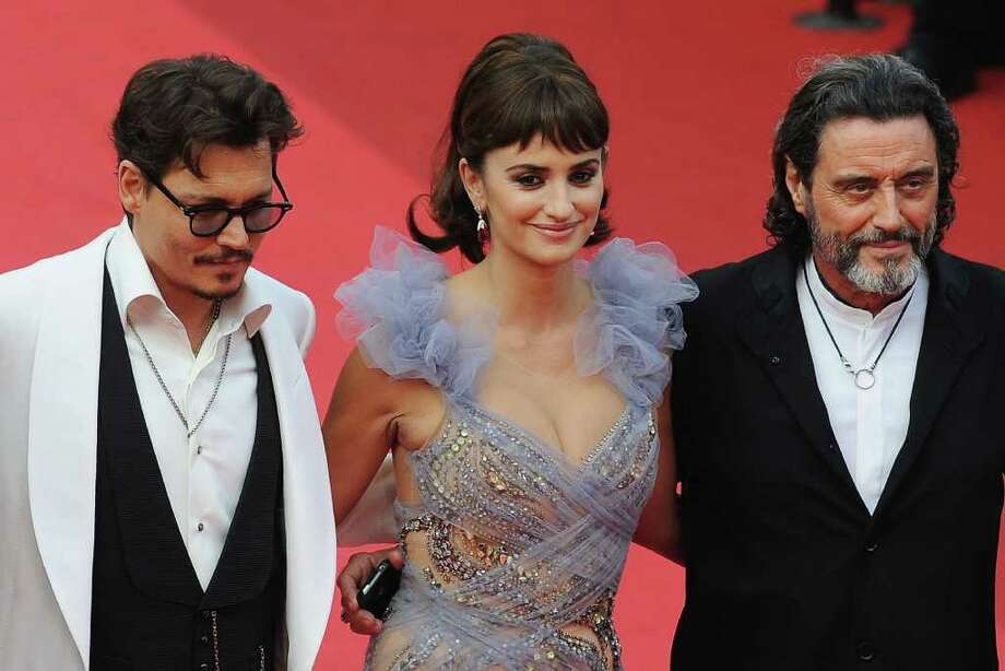 "Actors Johnny Depp (L), Penelope Cruz (C) and Ian McShane attend the ""Pirates of the Caribbean: On Stranger Tides"" premiere at the Palais des Festivals during the 64th Cannes Film Festival on May 14, 2011 in Cannes, France. Photo: Francois Durand, Getty Images / 2011 Getty Images"