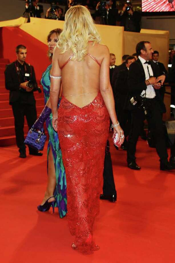 "Valeria Marini attends the ""Hearat Shulayim"" premiere at the Palais des Festivals during the 64th Cannes Film Festival on May 14, 2011 in Cannes, France. Photo: Vittorio Zunino Celotto, Getty Images / 2011 Getty Images"