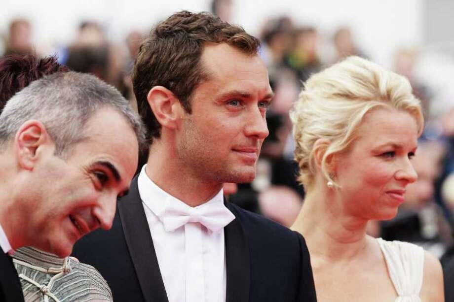 "(L-R) Jury Members Olivier Assayas, Jude Law and Linn Ullmann attends the ""Pirates of the Caribbean: On Stranger Tides"" premiere at the Palais des Festivals during the 64th Cannes Film Festival on May 14, 2011 in Cannes, France. Photo: Andreas Rentz, Getty Images / 2011 Getty Images"